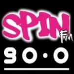 Logo da emissora Spin 90.0 FM