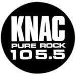 Logo da emissora Radio KNAC 105.5 FM
