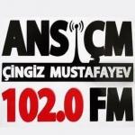 Logo da emissora ANS 102.1 FM