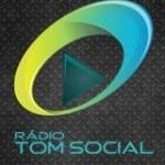 Logo da emissora R�dio Tom Social