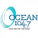 Logo da emissora Radio WOCN Ocean 104.7 FM