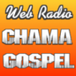 Logo da emissora Rádio Chama Gospel