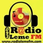 Logo da emissora Rádio Leme FM