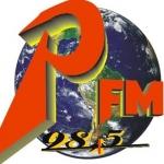 Logo da emissora Rádio Positiva 98.5 FM