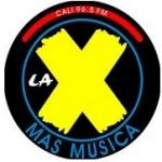 Logo da emissora Radio La X 96.5 FM