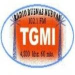 Logo da emissora Radio Buenas Nuevas 102.1 FM