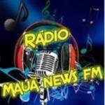 Logo da emissora Rádio Mauá News FM