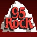 Logo da emissora KKNN 95 FM Rock