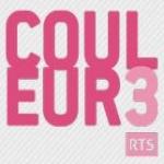 Logo da emissora RTS Couleur 3 104.2 FM
