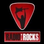 Logo da emissora Rádio Rocks