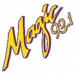Logo da emissora Radio KMGJ 93.1 FM