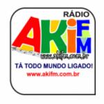 Logo da emissora Aki FM