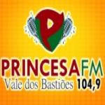 Logo da emissora Rádio Princesa 104.9 FM
