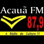 Logo da emissora R�dio Acau� 87.9 FM