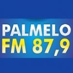 Logo da emissora R�dio Palmelo 87.9 FM
