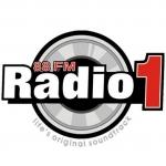 Logo da emissora Radio 1 FM Dance