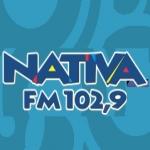 Logo da emissora Rádio Nativa 102.9 FM