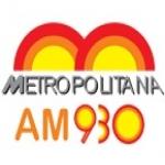 Logo da emissora R�dio Metropolitana 930 AM