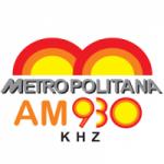 Logo da emissora Rádio Metropolitana 930 AM