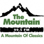 Logo da emissora KQMT 99.5 FM The Mountain
