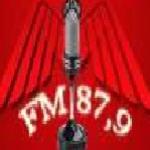 Logo da emissora R�dio Liberdade 87.9 FM