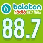 Logo da emissora Radio Balaton 88.7 FM