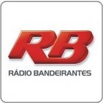Logo da emissora R�dio Bandeirantes Bauru 1160 AM
