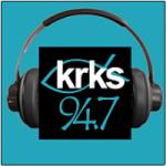 Logo da emissora Radio KRKS 94.7 FM