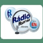 Logo da emissora Rádio Rural de Altamira 670 AM