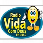 Logo da emissora Radio Vida com Deus