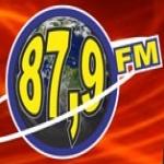 Logo da emissora R�dio Nova Dimens�o 87.9 FM