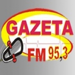 Logo da emissora Rádio Gazeta 95.3 FM