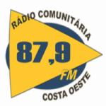 Logo da emissora Rádio Costa Oeste 87.9 FM