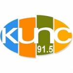Logo da emissora Radio KUNC 91.5 FM