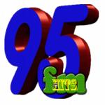 Logo da emissora 95fm Hits