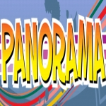 Logo da emissora Rádio Panorama 96.7 FM