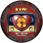 Logo da emissora Radio KVNF 90.9 FM
