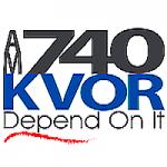 Logo da emissora Radio KVOR 1300 AM