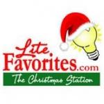 Logo da emissora Lite favorite Christmas