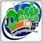 Logo da emissora Rádio Oásis 98.7 FM