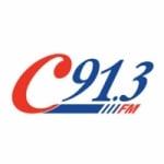 Logo da emissora Radio C91.3 FM