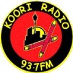 Logo da emissora Radio Koori 93.7 FM