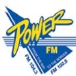 Logo da emissora Radio Power 102.5 FM