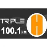 Logo da emissora Radio Triple H 100.1 FM