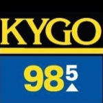 Logo da emissora KYGO 98.5 FM