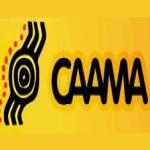 Logo da emissora Radio CAAMA 105.1 FM
