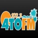 Logo da emissora Radio 4TO 102.3 FM