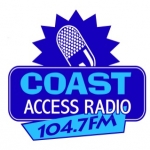 Logo da emissora Radio Coast Access 104.7 FM