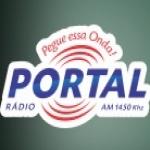 Logo da emissora Rádio Portal 1450 AM