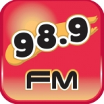 Logo da emissora Radio 98.9 FM